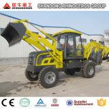 Tractor con cargadora frontal y retroexcavadora y cargadora retroexcavadora baratos Precio de Venta/utilizan cargadora retroexcavadora