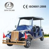 Blaue Farbe 6 setzte elektrische Fahrzeug-Golf-Karre