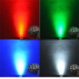 luz da PARIDADE do estágio do diodo emissor de luz de 70W RGBW para o casamento/partido