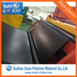 strati neri del PVC della metallina di 0.8mm per la laminazione di Thermoforming&Door