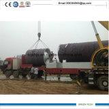 10 la tonne de capacité machine de recyclage des ordures de la chambre d'obtenir de l'huile de carburant