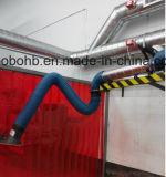 Более длинние и выдвинутые рукоятки перегара собрания дыма установки стены