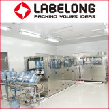 5 galón/20L Barril puro de la botella de agua potable y el llenado de embotellado// Máquina de producción de embalaje