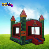 Het kasteel van het Huis van /Jumping van de Uitsmijter van Kiddy/de Opblaasbare Uitsmijters van het Kasteel
