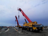 Sany Stc75 75 Tonnen verwendeten hydraulischen Kran für Verkauf 2010 Handmobilen des Kranes des Jahr-zweite