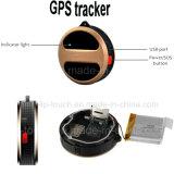 SIM 카드 구멍과 실제 지도를 가진 GSM 소형 GPS 추적자