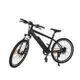 E-vélo vers le bas du tube double utilisation avec le cas pour 40 cellules de compartiment de batterie
