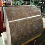 Bobina de aço Prepainted mergulhada quente PPGL PPGI do material de construção
