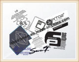 Pérola do tafetá do poliéster do padrão europeu revestida (PT332P)