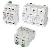 セリウム公認1000VDC Photovoltaic Surge Protective Device Surge Protection (タイプ2、40kA)