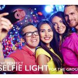 Перезаряжаемые света кольца проблескового света 36 Selfie светлые СИД