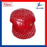 Kundenspezifische Mens-Sommer-rote Farben-Schutzkappen und Hip-Hophut