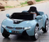 Coche con pilas del coche eléctrico barato de los cabritos con la marca de fábrica de BMW