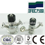 Aço inoxidável sanitárias a válvula de amostragem (IFEC asséptica-SV100013)