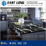 Pierre Polished Counterops de quartz pour conçu/salle de bains avec le matériau de construction extérieur solide