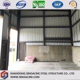 Estrutura de aço de alta qualidade Sinoacme galpão de armazenagem do depósito