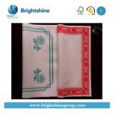 Белая бумага санитарной салфетки /Colored для обеда
