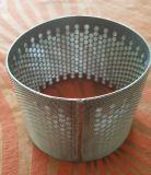 SS316 vier de Gelaagde Cilinder van de Buis van de Filter van de Waarde van het Netwerk van de Draad Gesinterde