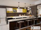Modern Home Отель мебель островных U деревянной кухни кабинет