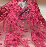 Способ высокого качества конструирует цветастую ткань шнурка
