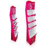 Étalage de compteur de carton avec l'impression de Cmyk, étalage de carton, présentoir de papier