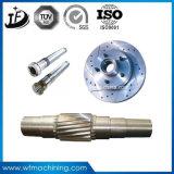Peça fazendo à máquina do aço inoxidável de centro de máquina da precisão de 5 linhas centrais/aço de carbono/aço de liga