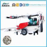 Große Kapazitäts-Dieselmotor-mobiler hölzerner Abklopfhammer für Verkauf