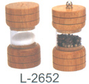 Pfeffer-Mühle und Salz-Schüttel-Apparat (L-2652)