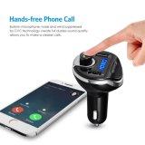 Trasmettitore Handsfree di Bluetooth FM del caricatore del USB dell'automobile del kit dell'automobile del BT del trasmettitore del giocatore di MP3 dell'automobile FM