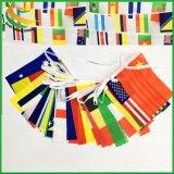 Decoratie van de Staaf van de Vlag van Combo van de Banner van de polyester de Internationale Hangende