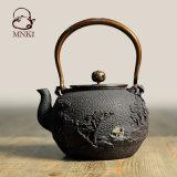 鉄のやかんの鉄の鍋のやかん水やかん水鍋の茶鍋
