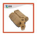 Papel Kraft marrón Hang Tag/Impresión de etiquetas de joyería personalizada