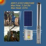 4 polegada de 2o HP 1500W bomba submersível centrífugos solar, furo Bomba, Bomba de poços