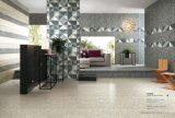 壁および床のための完全なボディ磁器及び陶磁器の艶をかけられた無作法なタイル
