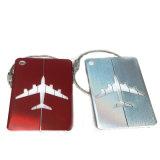 Diseño de OEM de metal de Líneas Aéreas etiquetas de equipaje fabricado en China
