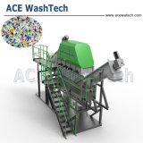 Machine van het Recycling van PC van de Fles van PC de Materiaal Verwerkte Plastic