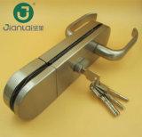 Aço inoxidável fechadura da porta de vidro sem caixilho