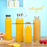 Alimentação de fábrica em sumo grau alimentício garrafas de vidro