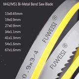 Qualidade superior M42 Bimetal 27X0.9 de lâmina de serra de fita para corte de metal a partir da fábrica