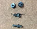 L'OEM ha personalizzato il fermo del ferro del tornio di CNC galvanizzato precisione (F-119)