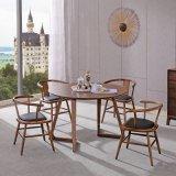 Casa de madera muebles de madera moderno restaurante Silla para Comedor
