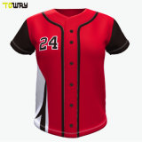 Personalisierbare Sublimation Streetwear Korea Baseball Trikots Großhandel