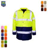 Uniformen van de Jasjes van de Veiligheid Vis van de arbeid hallo de Collectieve