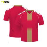 Maglia Da Calcio Personalizzata 5xl Per Abbigliamento Sportivo All'Ingrosso In Bianco