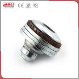 L'insert métallique ronde personnalisée de l'écrou plaqué zinc les raccords hydrauliques