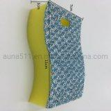 Polyester en Stootkussen van de Spons van de Keuken van het Huishouden van het Doel van het Schuim van Pu het Multi Schoonmakende