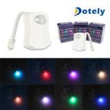 LED-Toiletten-Nachtlicht-Karosserie, die automatische Bewegungs-Badezimmer-Fühler-Lampe erfasst