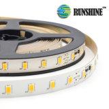 Concurrerende LEIDENE 65lm/LED van de Prijs 60LED/M Strook 5630