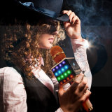 iPhone 인조 인간 Smartphone를 위한 Bluetooth 스피커를 노래하는 무선 Bluetooth 마이크 Karaoke 선수 당 홈 KTV