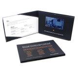 In het groot Manier 7 VideoBoekje die van de Kaart van de Uitnodiging van het Scherm van de Vertoning van de Duim HD LCD het Met de hand gemaakte Digitale Brochure voor Zaken afdrukken